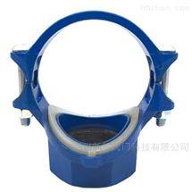 蓝色给水用硅胶密封机械三通
