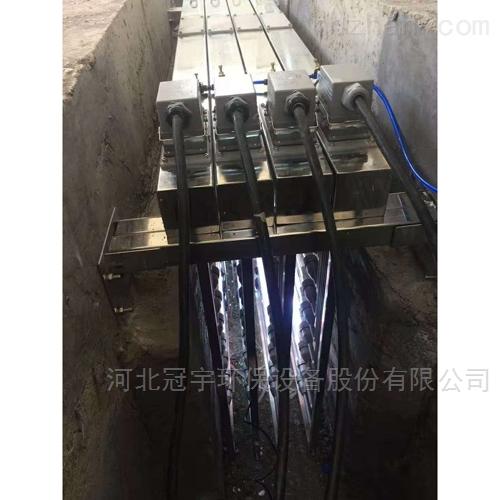 工业废水明渠式紫外线光催化消毒模块