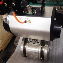 Q641TC-16P气动不锈钢陶瓷球阀