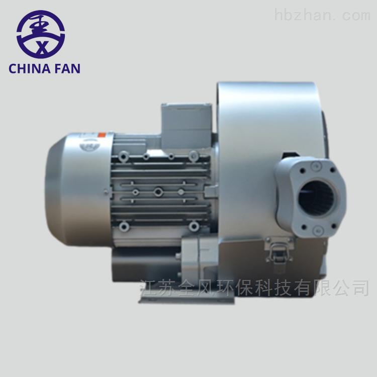 双叶轮旋涡高压气泵