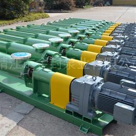 高粘度污泥单螺杆泵