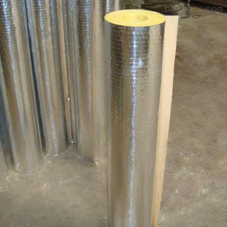 超细纤维玻璃棉保温管隔热防水岩棉管