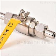 Q21SA-64P不锈钢焊接活接球阀