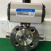 BQ671F-25P气动对夹保温球阀