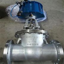 Z641W-16P气动不锈钢闸阀
