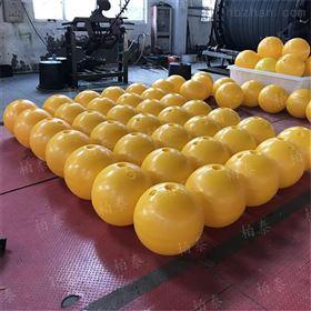 FQ400柏泰塑料浮球对水面环境进行警示划分
