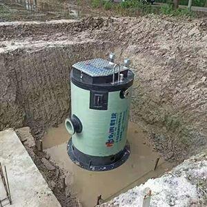 上海一体化雨水提升泵站厂家玻璃钢预制泵站