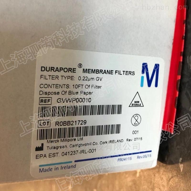 默克密理博Durapore亲水性PVDF表面滤膜