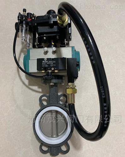 D671F自动复位防爆气动蝶阀