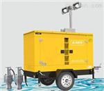 防洪移动发电排水一体泵车