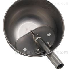养猪场专用加深不锈钢水碗
