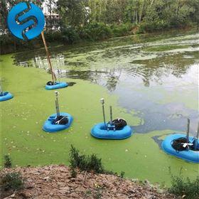 漂浮式潛水曝氣機的選型與安裝