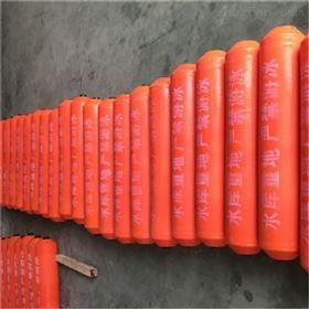 FT浮筒受力均匀抗急水流聚乙烯拦污排
