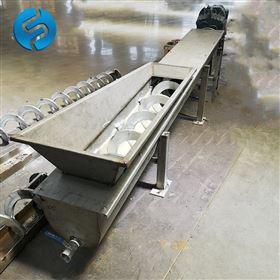 WLS420-N無軸螺旋輸送機用途