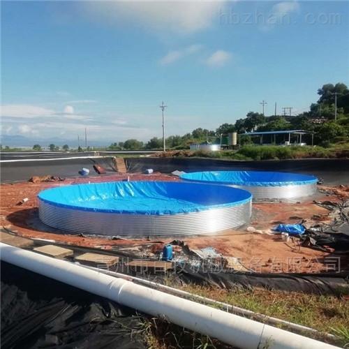 养殖镀锌板鱼池蓄水池