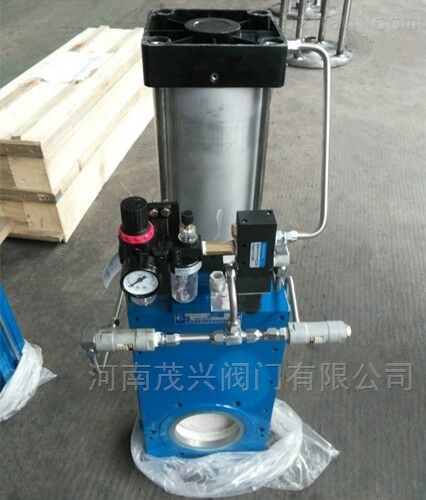 气动陶瓷单闸板闸阀