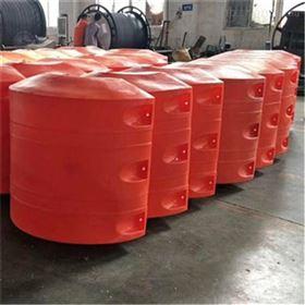 FT800*1100夹外径12寸管子浮水面管道浮筒