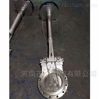 加长杆链轮式高温排渣阀灰渣阀