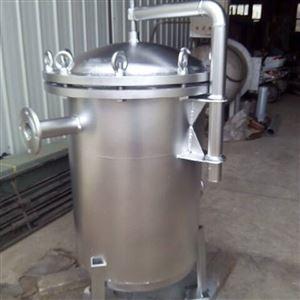 HT水处理不锈钢袋式过滤器大通量过滤