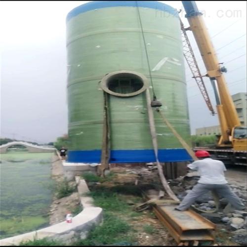 玻璃钢一体化雨水预制提升泵站