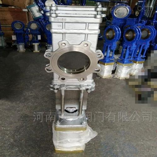 气动不锈钢穿透式插板阀