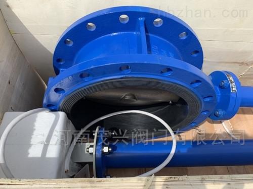 IP68防水加长杆电动蝶阀
