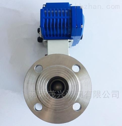 电动不锈钢一体式高温球阀