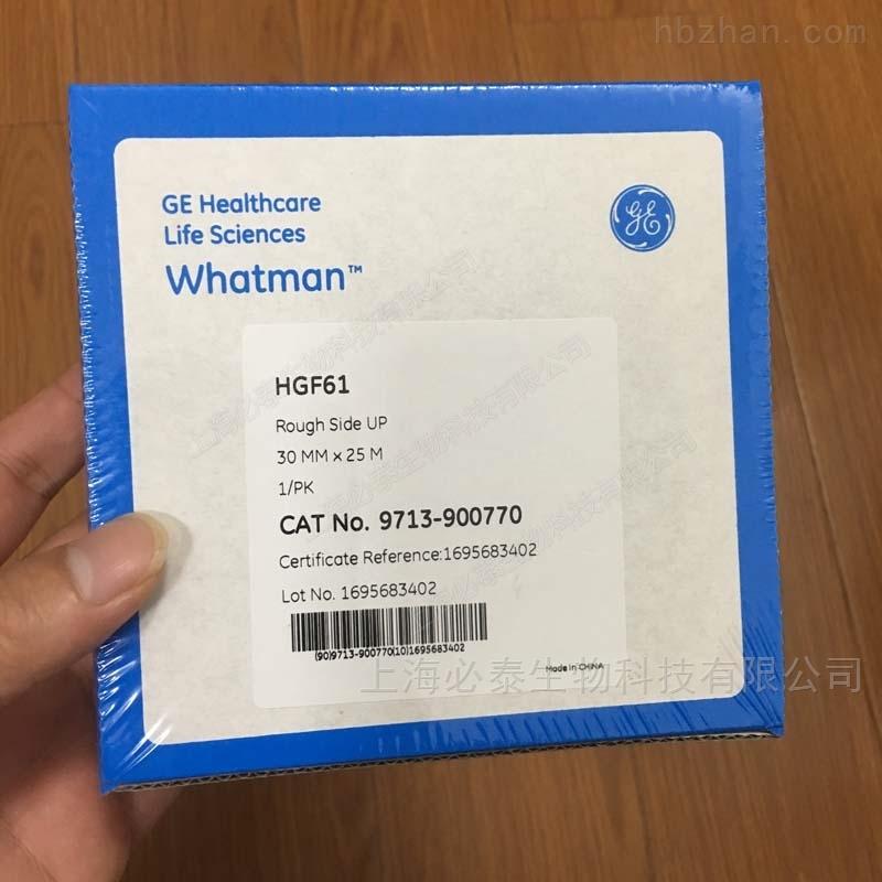 whatman PM2.5空气监测HGF61玻璃纤维纸带