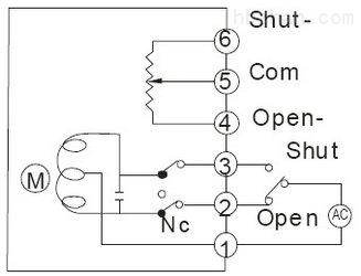开度式电位计型