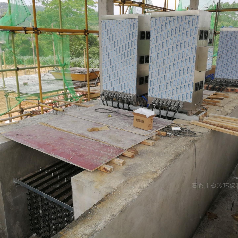 成都市污水处理厂——明渠紫外线系统