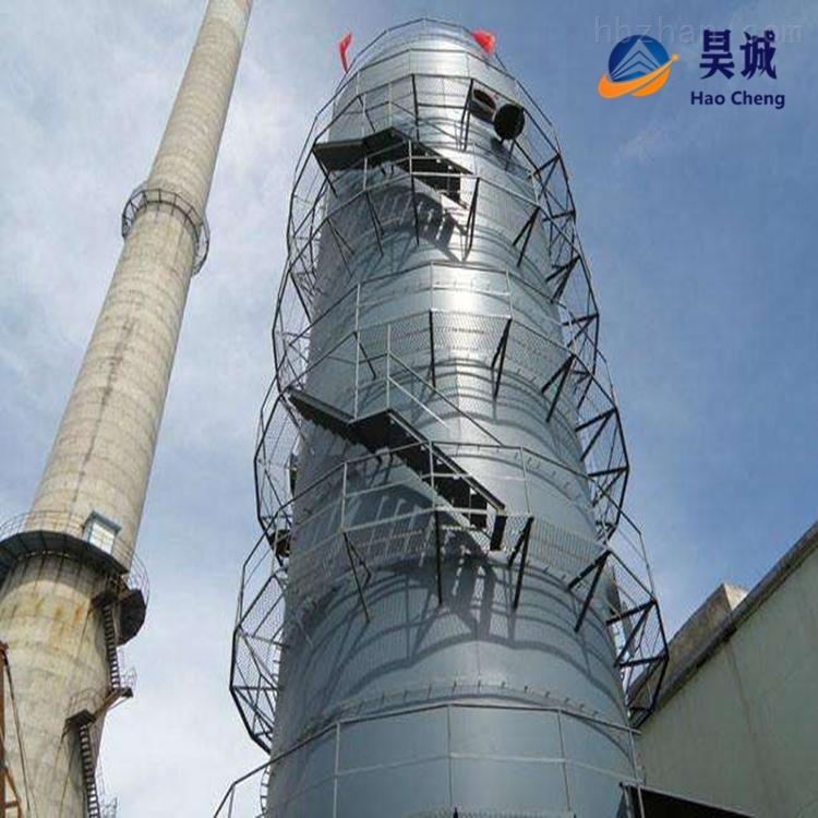 工业窑炉废弃碳钢脱硫塔环保设备