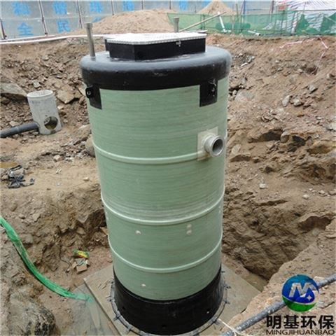 一体化预制泵站安装说明