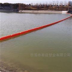 浮式水面挡渣隔离浮漂带