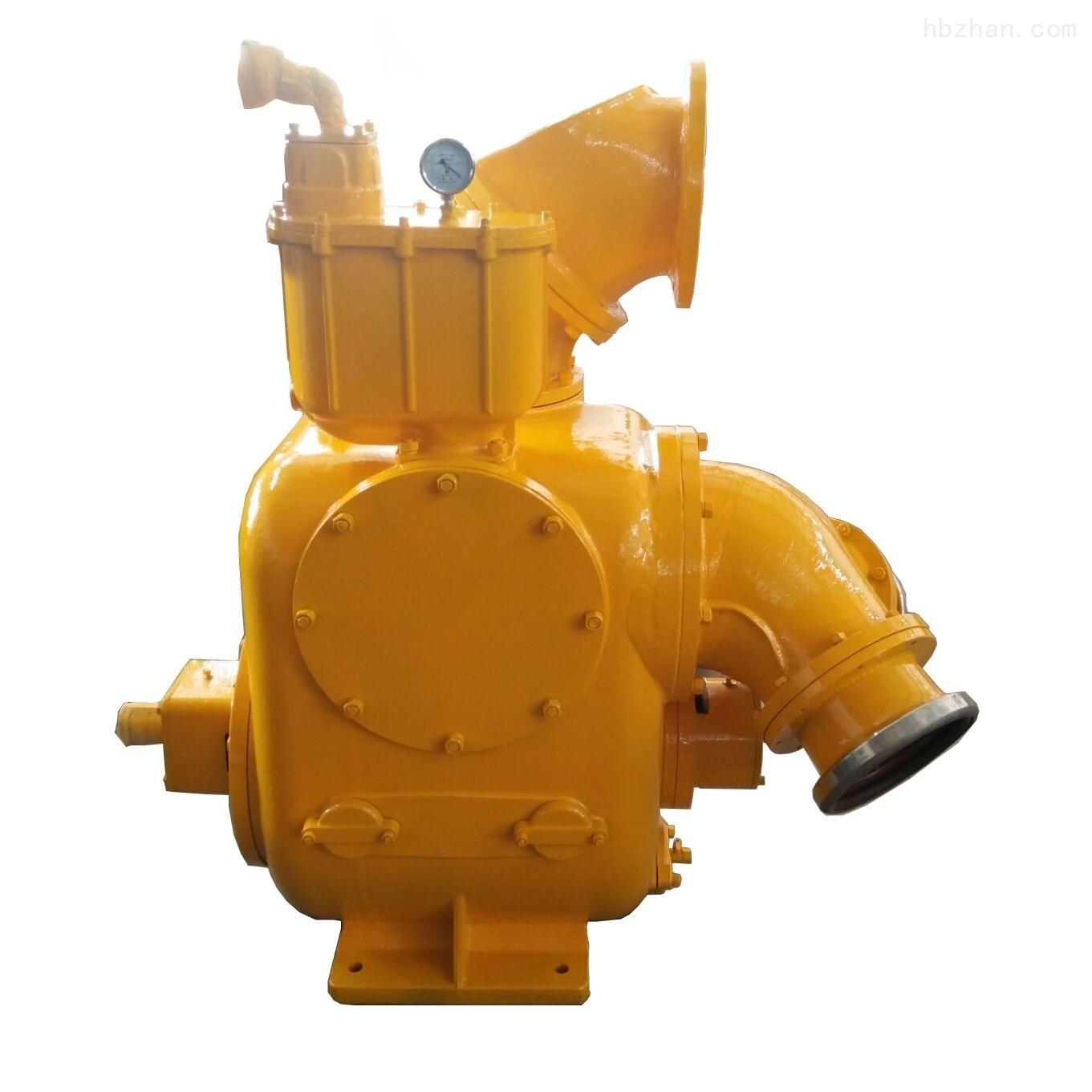 1000立方真空辅助柴油机自吸泵