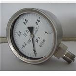 YB-100不锈钢压力表的原理结构,上海自动化四厂