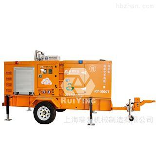 1000方拖车式多功能一体式排水泵车
