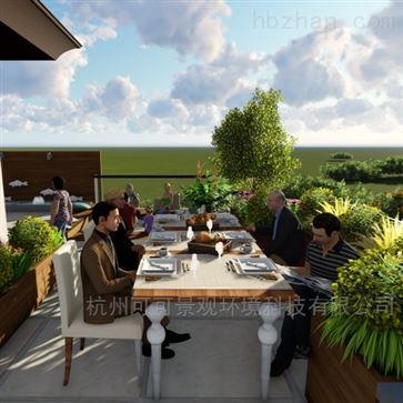 屋顶花园设计施工