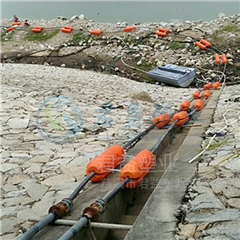 河面漂浮管线疏浚浮体批发