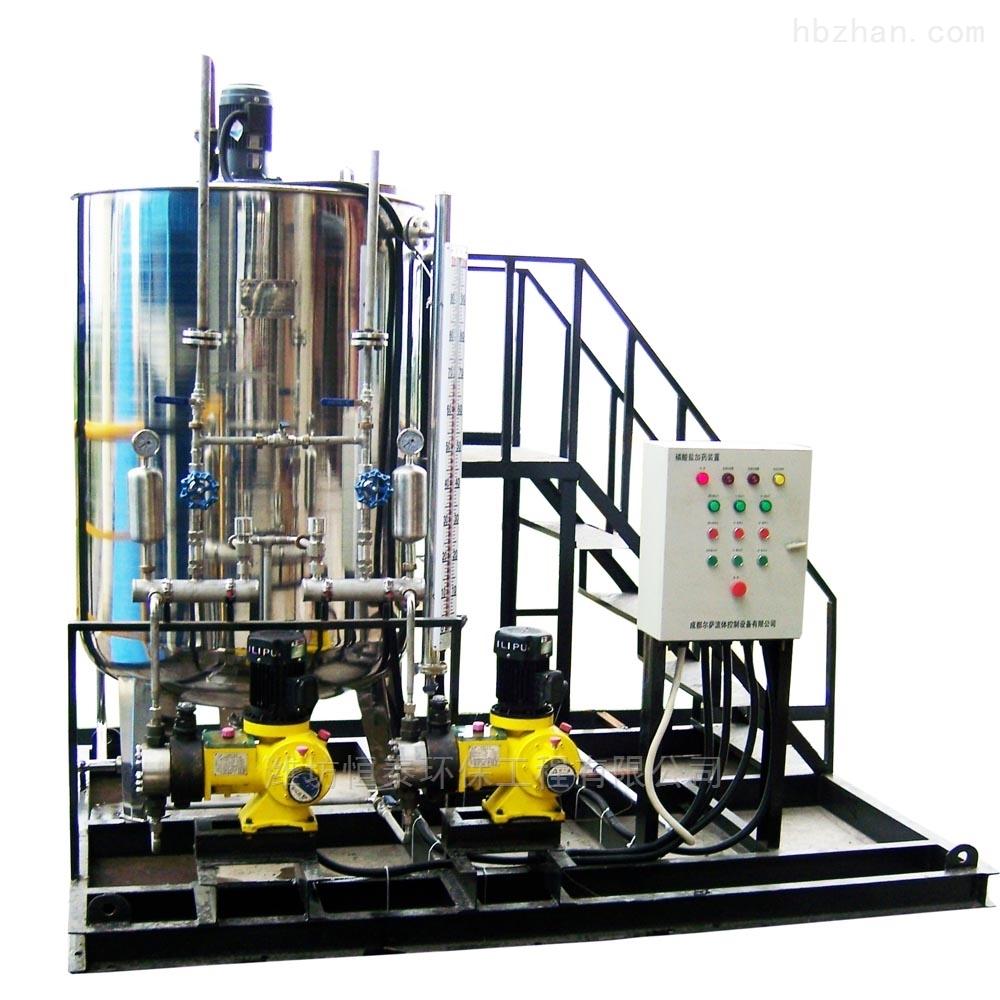 磷酸盐加药装置内部构造及操作说明