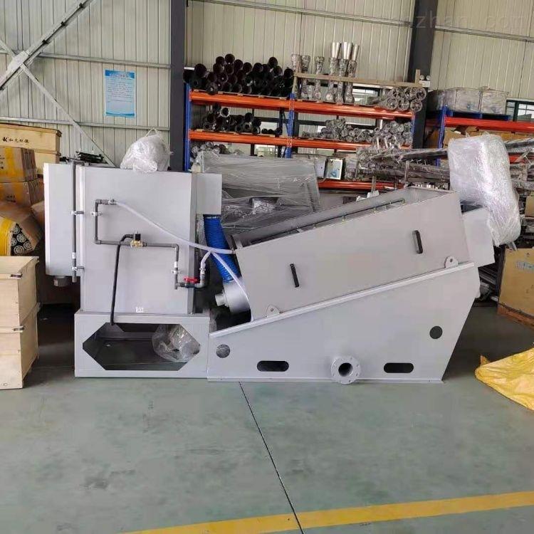 DLT131不锈钢叠螺式污泥浓缩脱水机设备