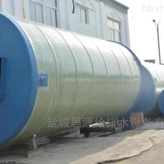 云南预制泵站  一体化污水提升泵站厂家制作