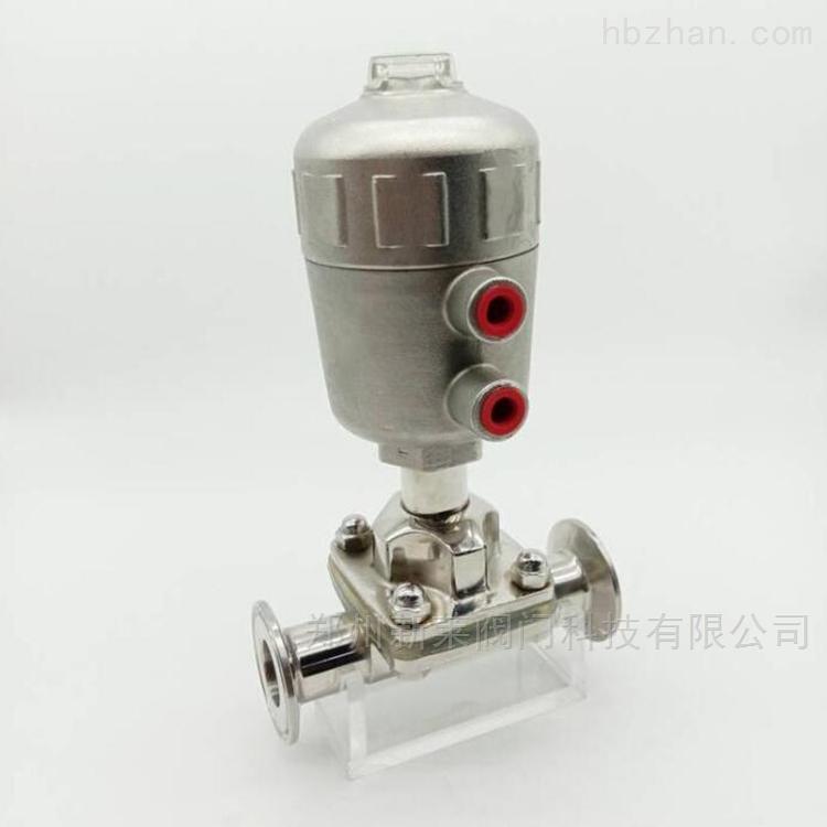 全不锈钢气动快装隔膜阀G681F-10P