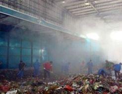 污水处理厂高压喷雾除臭系统