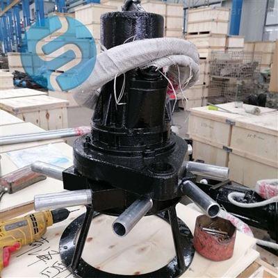 QXB3生化池潜水曝气机 水下增氧曝气设备