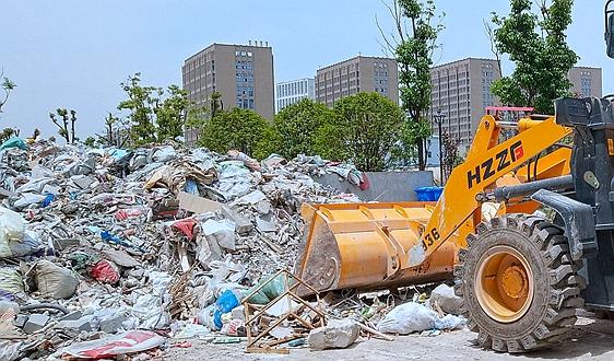 建筑垃圾整治执法从严 上海新一轮联合行动立案12起