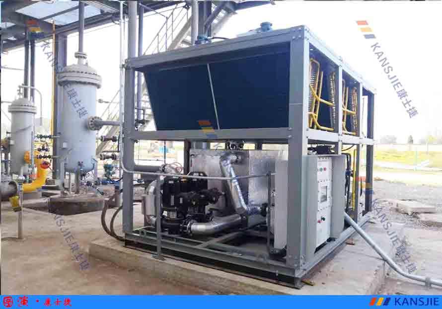化工行业用风冷螺杆式防爆冷水机使用案例