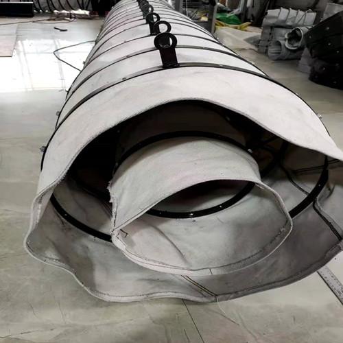 卸料伸缩布袋的使用寿命和作用