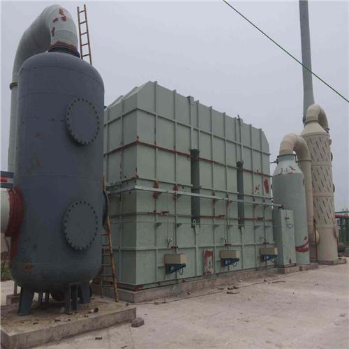山东某化工企业废气治理项目