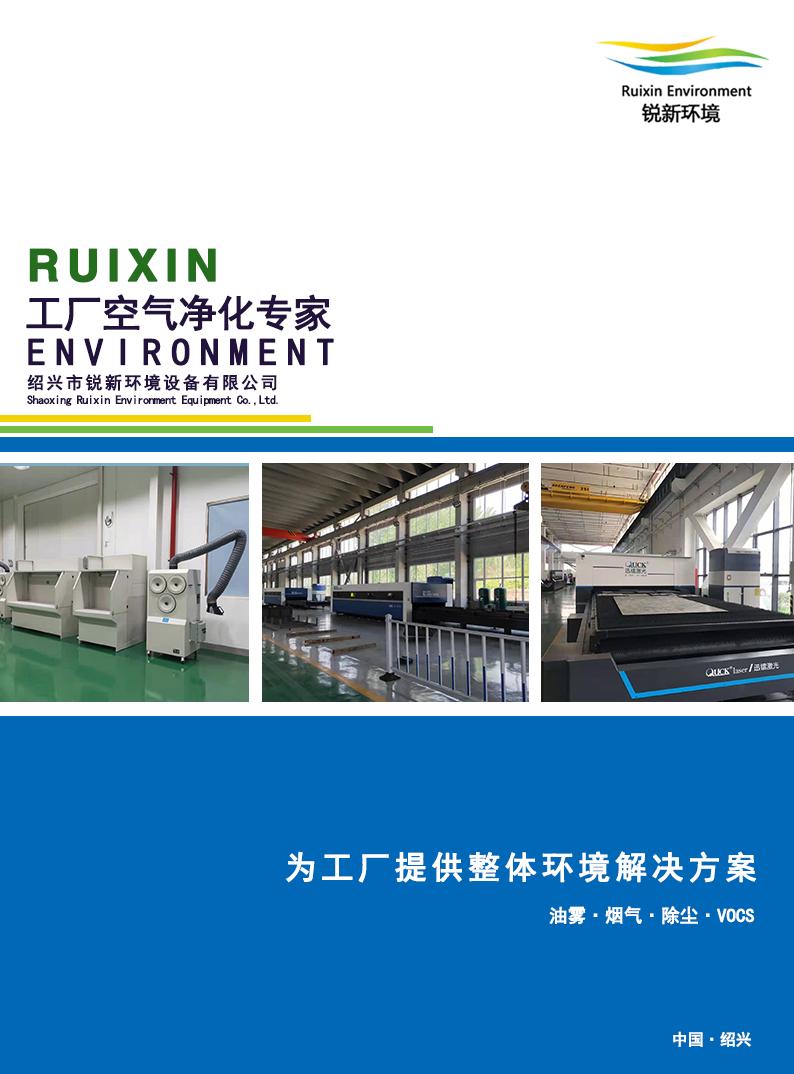 RUIXIN工厂空气净化专家