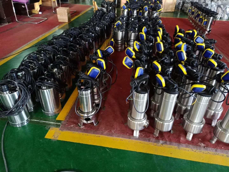 小型潜水排污泵特点与应用